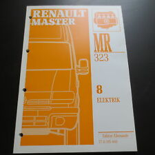 Renault master II 1997 onwards electrical workshop lighting alarm etc