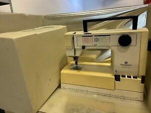 Husqvarna Optima 150   Nähmaschine mit Haube und etwas Zubehör