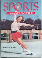 Sports Illustrated 1955 CAROL HEISS Olympics World Figure Skating Champ NO LABEL