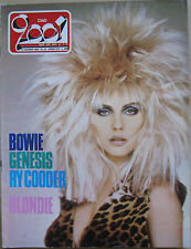 CIAO 2001 24 1982 Blondie David Bowie Ry Cooder Genesis Buonocore Theatre Hate