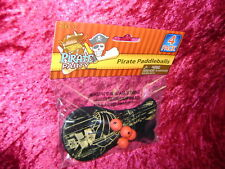 Pirate Party Paddleballs 4 Party Favors Pirates Toys Paddle Ball New I