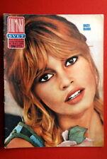BRIGITTE BARDOT ON COVER 1966 RARE EXYU MAGAZINE