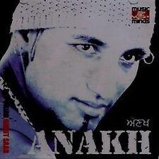AMRIT SAAB - ANAKH  - BRAND NEW BHANGRA CD - FREE UK POST