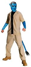 Avatar Movie: Jake Sully Adult Economy Costume XL Blue Cheap Closeout