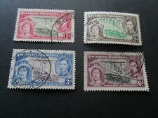Southern Rhodesia 1935 KGV Silver Jubilee Used stamp set as per pictures