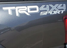 TOYOTA TRD 4x4 SPORT Decals W/S Vinyl Stickers 1 PAIR truck bed New 2016 Tacoma