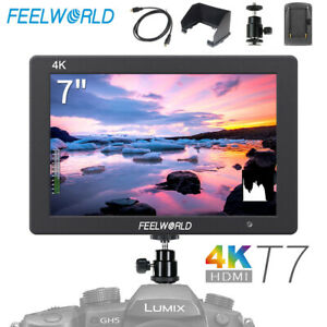 """Feelworld T7 7"""" IPS 1920x1200 HDMI On Camera Field Video Monitor for DSLR Camera"""