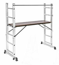 TecTake 3-in-1 Multi Purpose Ladder - 401668