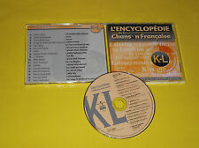CD COMPIL PROMO CLERC/HALLYDAY/S & C GAINSBOURG/GOLD/HF THIEFAINE/DALIDA/P DANEL