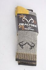 Realtree Merino Uplander Boot Sock Large