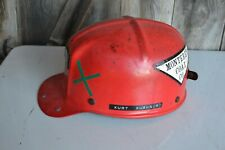 Vintage Msa Comfo Cap Coal Miners Hat Monterey Coal Co