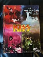 Kiss Ultra Rare Fantasy Notebook Aucoin 1979 All Pages Intact vintage
