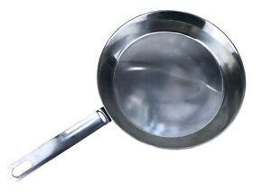 Swedish military stainless steel collapsible frying pan NEW