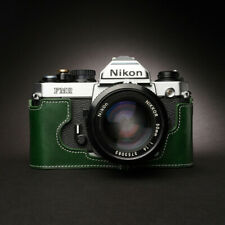 For Nikon FM2 FM3A FE2 Base Genuine Leather Protective Case Manual Cowhide Gifts