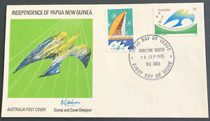 Australia FDC 1975 Independence Of Papua New Guinea