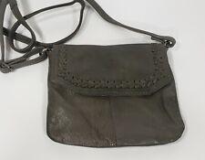 Day & Mood Anthrologie Angel Crossbody Mini - Dk Olive Green Leather Purse