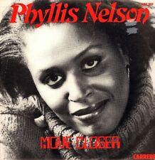 """Phyllis Nelson-Move closer (new mix)/Quelque part dans la ville 12"""" 1984 Hi NRG"""