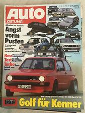 autozeitung 22/81: Golf-Tuning, Mercedes SEC, Fiat 131, Peugeot 505, Honda 500