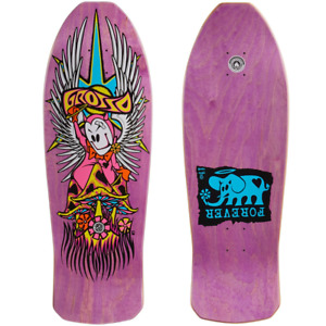 """Black Label Jeff Grosso Forever 10.25"""" Purple Stain 1989 Re-Issue Shaped Deck"""