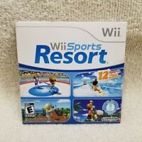 Wii Sports Resort (Wii, 2009) NEW SEALED Sleeve Pack In Game Sticker Sealed