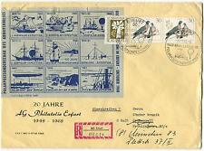 TAAF Terres Australes et Antartiques Francaises Polar Antarctic Cover REGISTERED