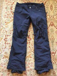 BURTON ~ Women's Dry-Ride Snowboard Snow Ski Pants ~ Sz XL (16) 33-37 Waist ~VGC