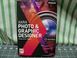 Magix Xara Photo and Graphic Designer 12 Sealed Software PC New DVD/Download