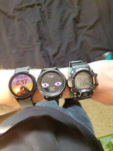 galaxy watch 3 titanium w/ accessories