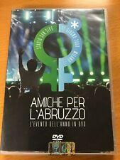 AMICHE PER L'ABRUZZO PAUSINI MANNOIA NOEMI RETTORE ARISA FERRERI ALEXIA DVD ☆