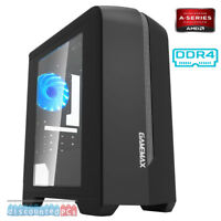 FAST AMD DUAL CORE A6 9500 3.5GHZ 8GB 1TB Desktop Gaming PC Computer WIN 10  y2