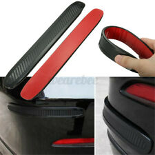 2Pc Universal Car Bumper Corner Rubber Protector Anti-rub Scratch Guard Str