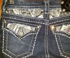 Miss me size 27 womens slim bootcut jeans