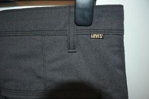 Vintage Levi's Sta - Prest grey trousers jeans W 34 L 34 zip fly