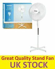 Pedestal Cooling Fan Desk Fans Oscillating Stand Standing Home Office 3 Speed