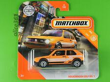 Matchbox 2020 -  Volkswagen Golf MK 1 -  MBX City  -  8  -  neu in OVP