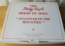 """The Shirley Temple Danbury Mint Susannah of the Mounties Outfit Fits 17"""" Doll"""