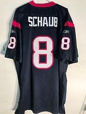 Reebok Authentic NFL Jersey Houston Texans Matt Schaub Navy sz 48