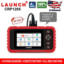 LAUNCH X431 CRP129X OBD2 Scanner Engine ABS Airbag SRS Diagnostic Tool Tester
