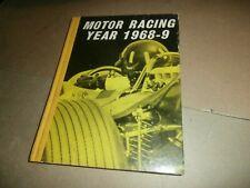 Vintage Motor Racing Year 1968 - 9 Book Formula 1 Saloon Car & others