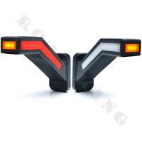 LED Begrenzungsleuchten Positionsleuchten Kurz Anhänger E-Prüfezeichen WAS 1165