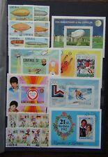Liberia 1978 Zeppelin World Cup Rowland Hill Rotary Olympics World Cup etc VFU