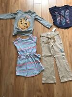 Girls Mixed Clothing Lot Size 5/6  Extremely Me Children's Place & Aeropostale