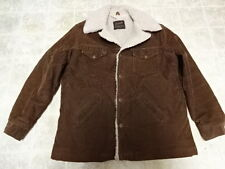 VINTAGE MADE IN USA 70'S WRANGLER CORDUROY JACKET GREAT COND NOT MUCH USED MEN L