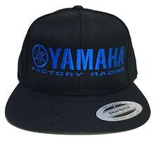 YAMAHA FACTORY RACING hat cap flat bill snapback blue red white MX YZF YFZ R1 R6