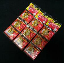 1987 Fleer Baseball Rack Packs three (3) double sealed Red wrapper Variation