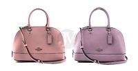 Coach (F27591) Crossgrain Mini Sierra Satchel Handbag Bag