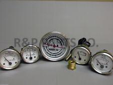 Oil Pressure Fuel Temp Amp Tach Gauge Set for Allis Chalmers Diesels D15 D17 D19