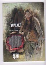 Walking Dead season 5 walker costume relic card (a) girl