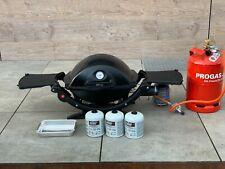 Weber Gasgrill Q120 mit Adapter für Gasflasche gebraucht; top gepflegt!
