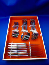 J.A. HENCKELS Vintage TABLEWARE 24 PCS. Made In Solingen Germany  USED COND.